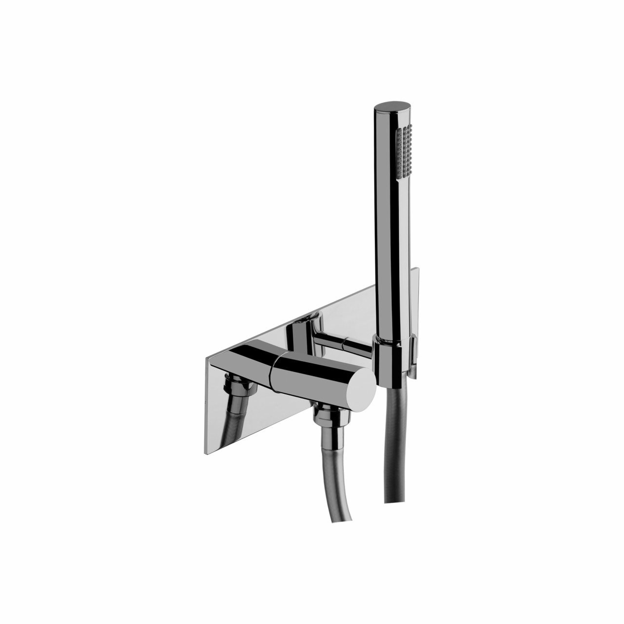 Bonomi Wall Outlet and Hand Shower with Plate