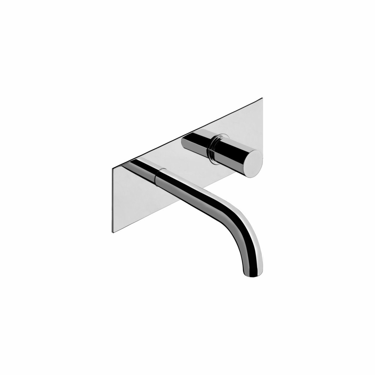 Bonomi Zero Wall Mounted Basin Mixer with 150mm Spout and Plate